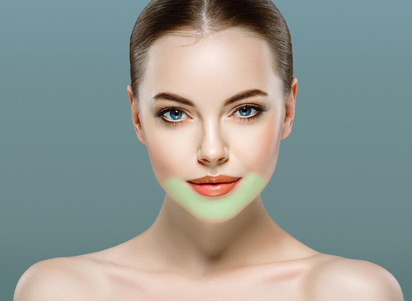 kinn Gesichtsreinigungsbürste