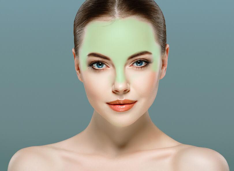 Gesichtsreinigungsbürste Stirn